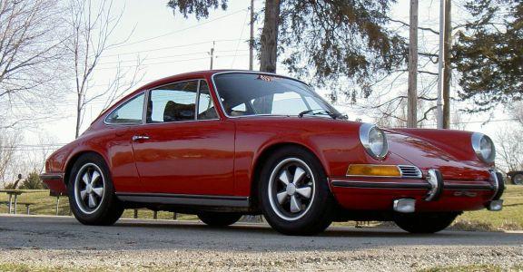 1972 Porsche 911 E 2.4l perspective