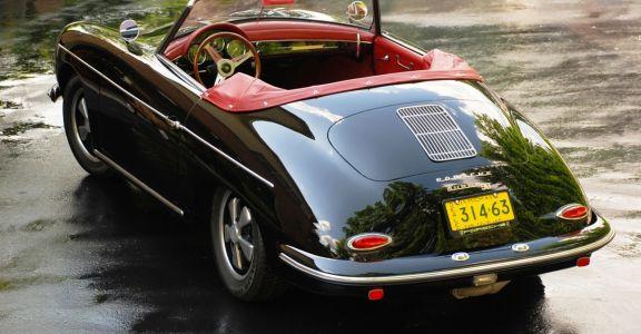 1960 Porsche 356 B Roadster S-90 perspective