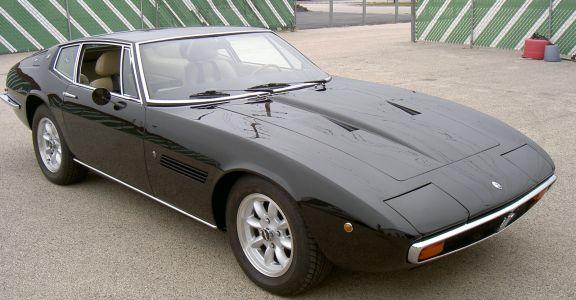 1971 Maserati Ghibli Coupe perspective