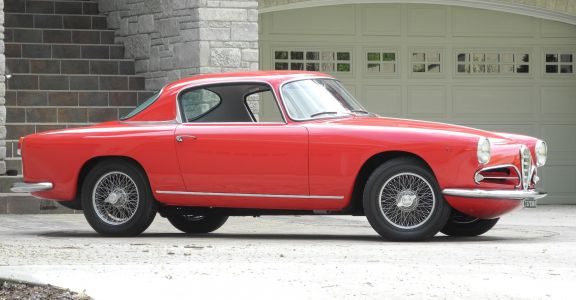 1956 Alfa Romeo 1900C SS perspective