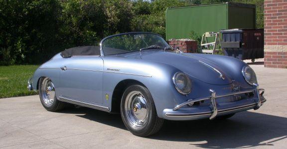 1958 Porsche 356 Speedster perspective