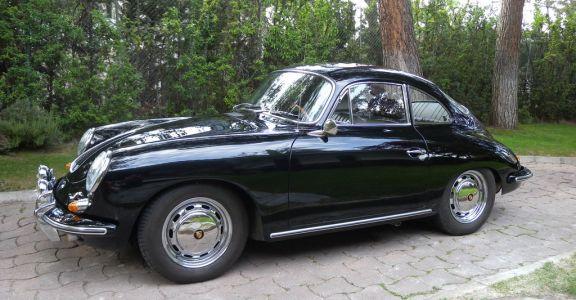 1964 Porsche 356 SC perspective
