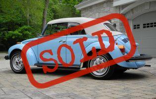 1979 Beetle Cabriolet 2000 miles, Original Paint!!