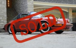 1983 Porsche 911 SC Targa, Original paint!