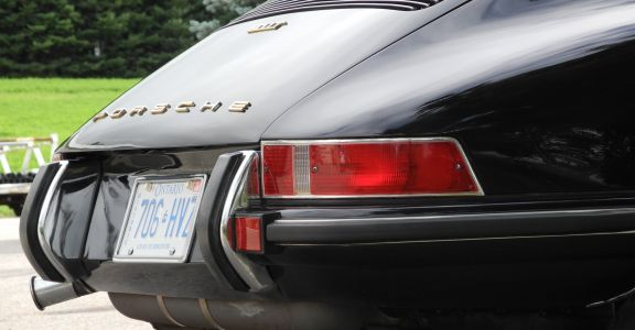 1972 Porsche 911T perspective