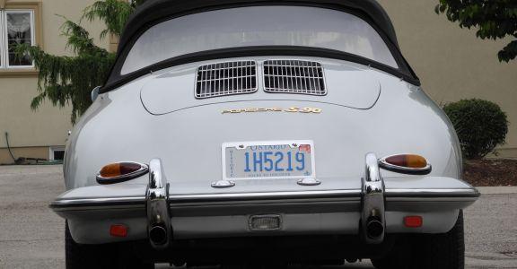 1963 Porsche 356 S-90 Cabriolet perspective