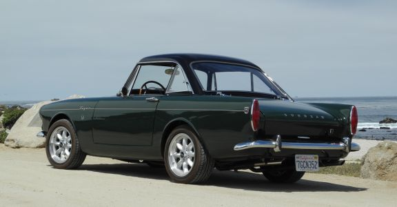 1966 Sunbeam Tiger MK1A perspective