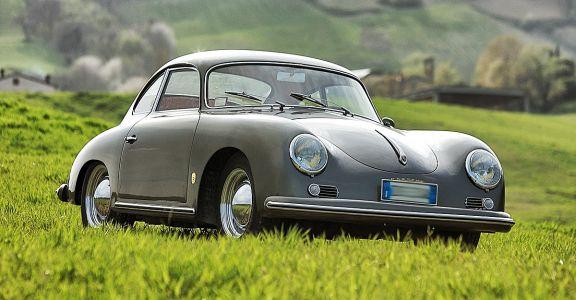 1957 Porsche 356 A Coupe perspective
