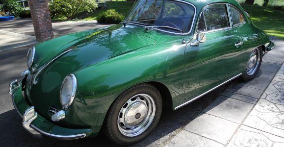 1964 Porsche 356 C Coupe perspective
