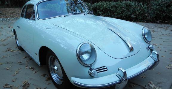 1962 Porsche 356 Hardtop Coupe perspective