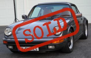 1985 Porsche Carrera 3.2l Original Paint!