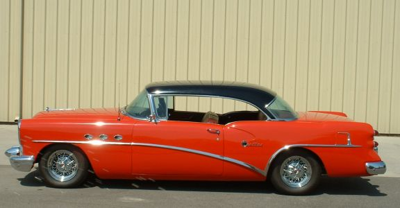 1954 Buick Century Coupe perspective
