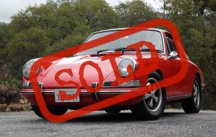 1967 Porsche 911 Sunroof Coupe!