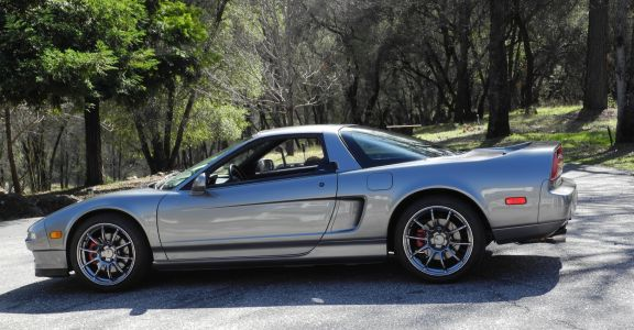 1998 Acura NSX-T perspective