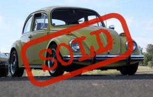 1973 Volkswagen Beetle, Original Paint!