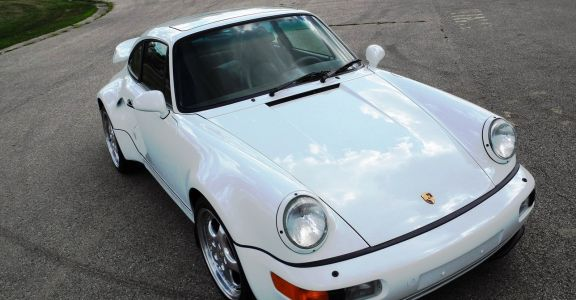 1994 Porsche 964 Turbo S Package car #1 perspective