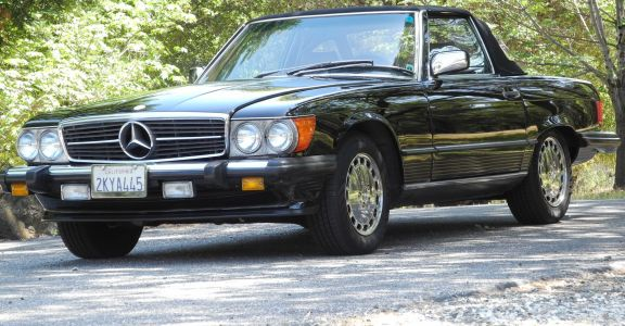 Mercedes Benz 560SL One owner!  perspective
