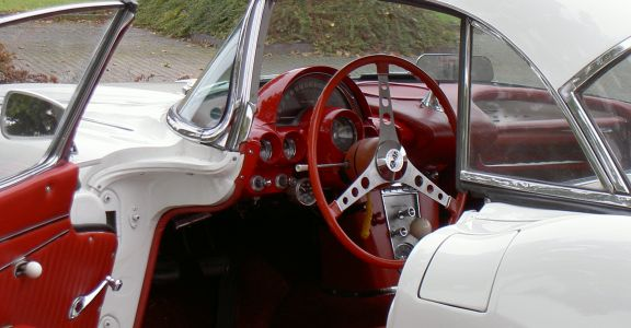 1962 Corvette Roadster perspective