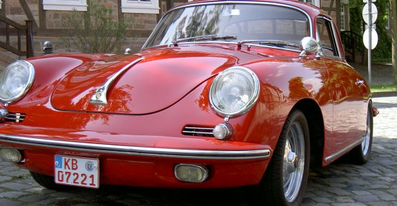 1962 Porsche 356B perspective