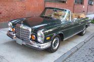 1971 Mercedes 280SE 3.5 Cab View 1
