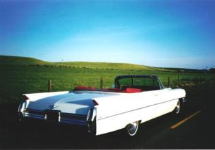 1960 Cadillac Convertible perspective